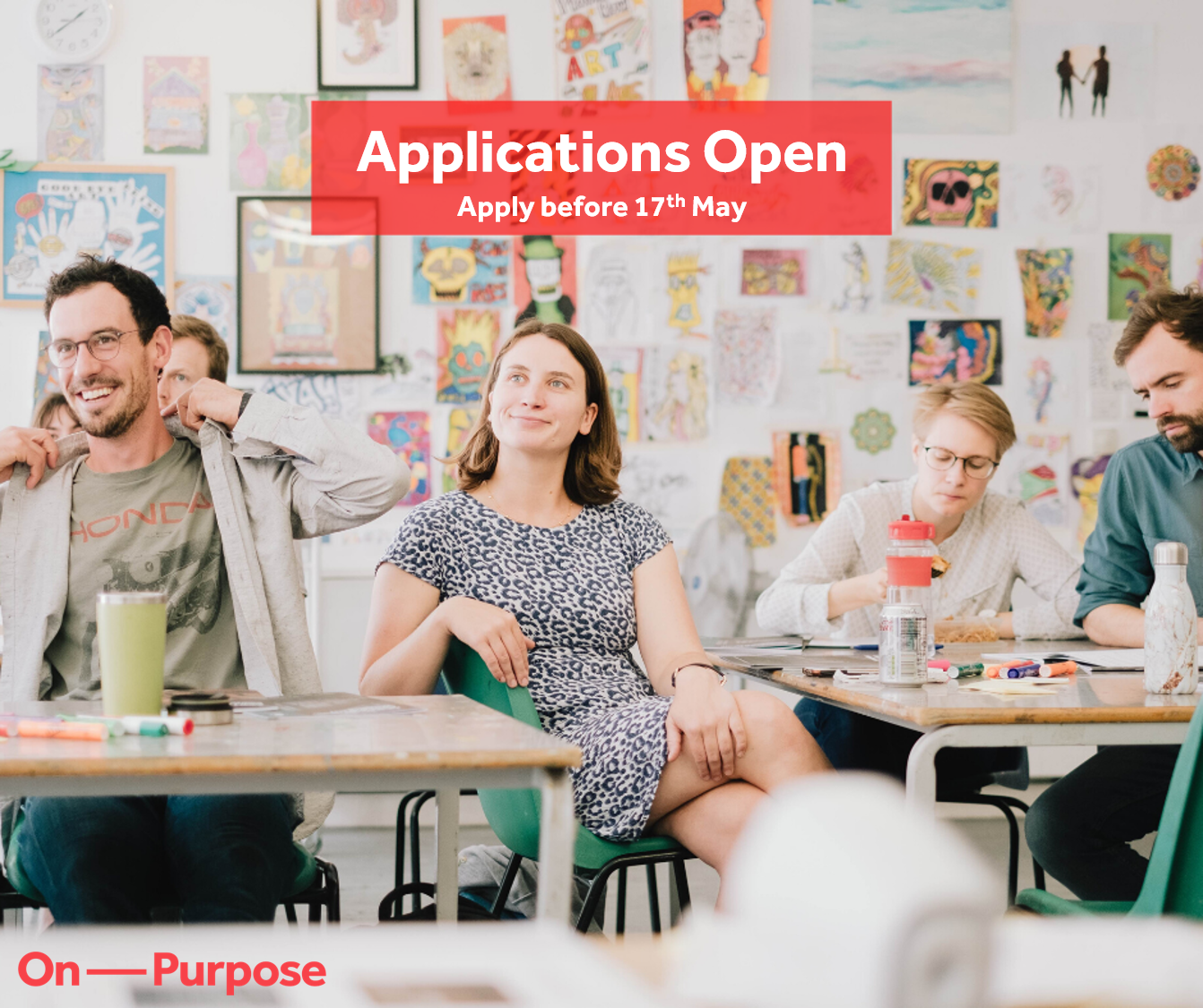 On Purpose – Applications Open for Associate Programme – October 2020 Cohort