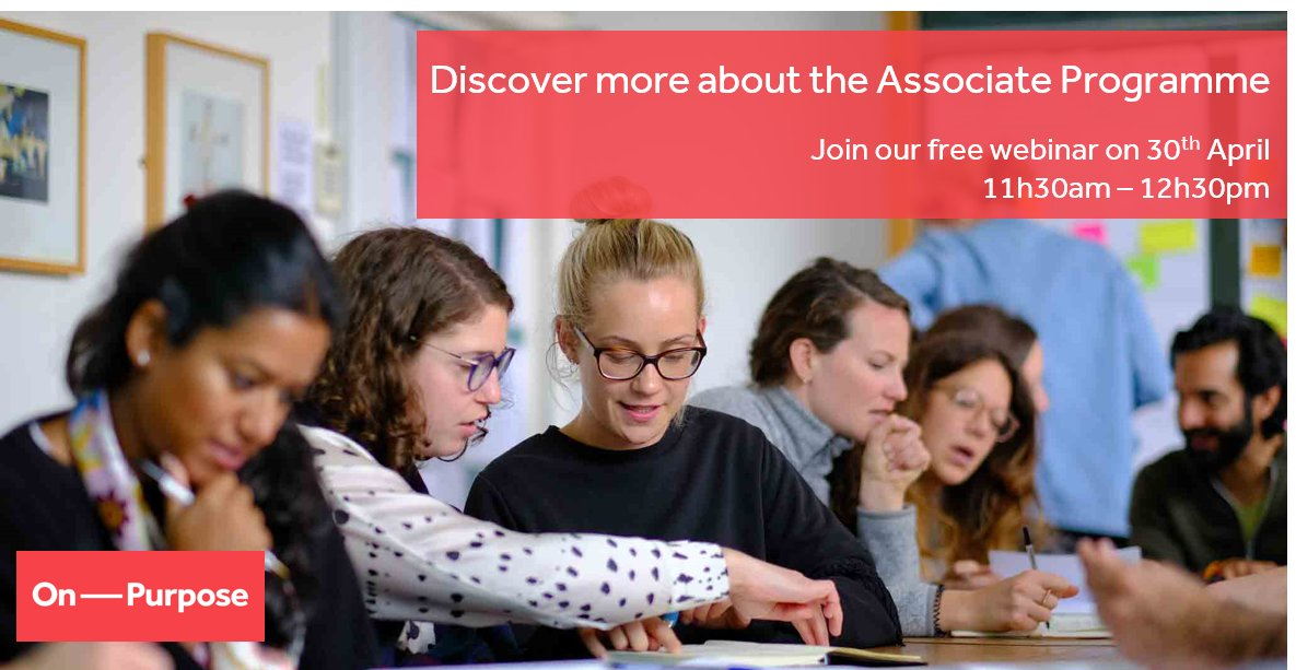 On Purpose open up Associate Programme for October Cohort